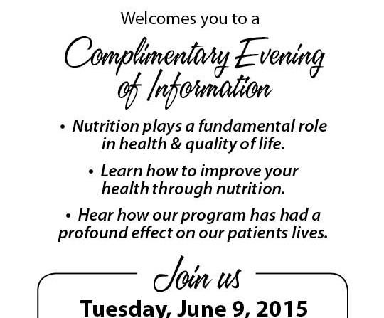 WC Info Night June 9